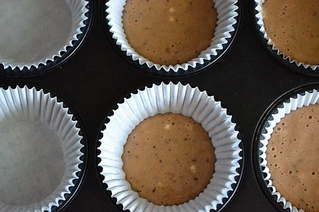 Becherkuchen-Muffins Teig