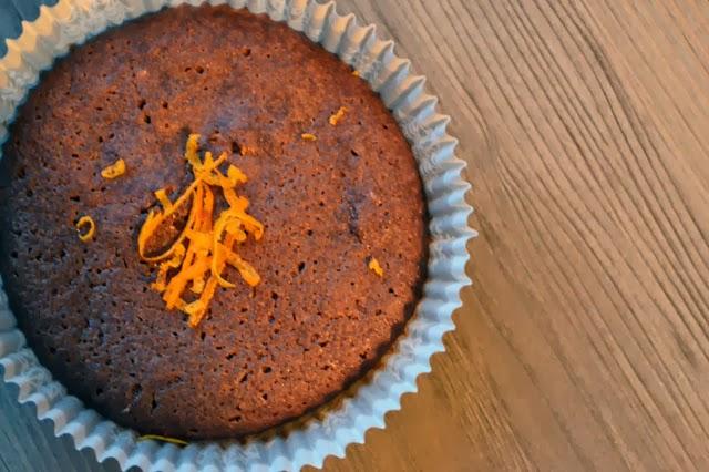 Orangen-Schokolade-Muffin