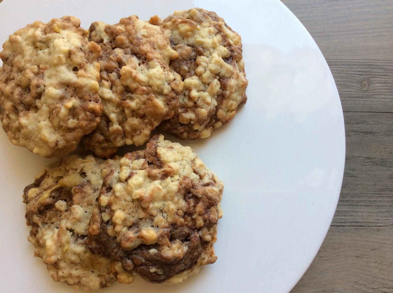 Nutella-Bananen-Cookies