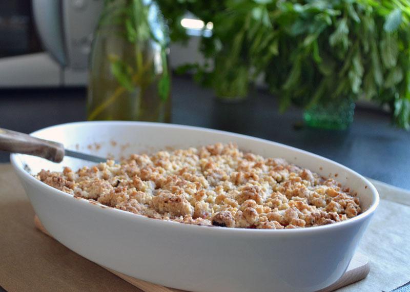 rhabarber-kuchen vegan