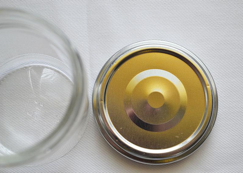 einmachglas etiketten entfernen