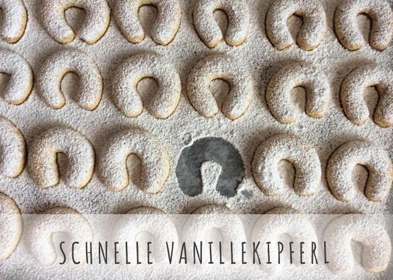 schnelle vanillekipferl rezept zuckerstaub.at
