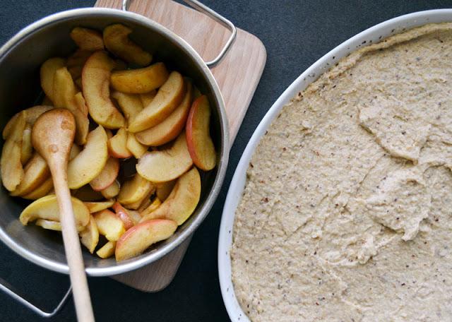 Apfelkompott für Apfelkuchen
