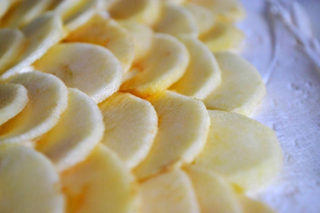 Topfen-Apfel-Strudel Füllung