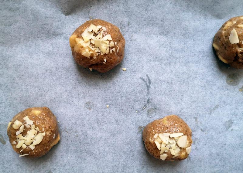 Apfelstrudel-Cookies Teig