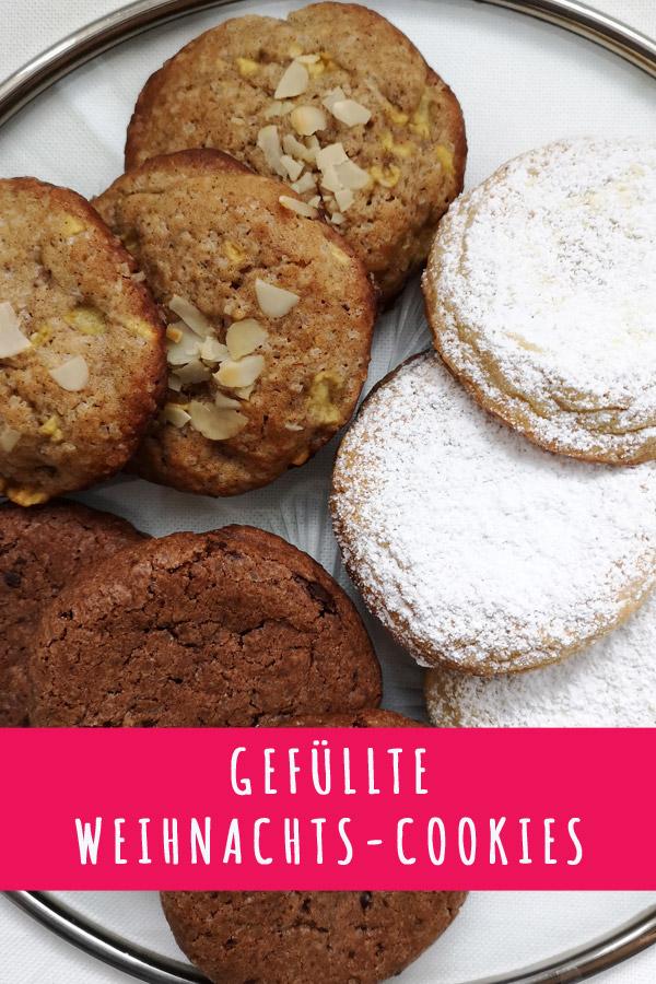 Gefüllte Weihnachts-Cookies